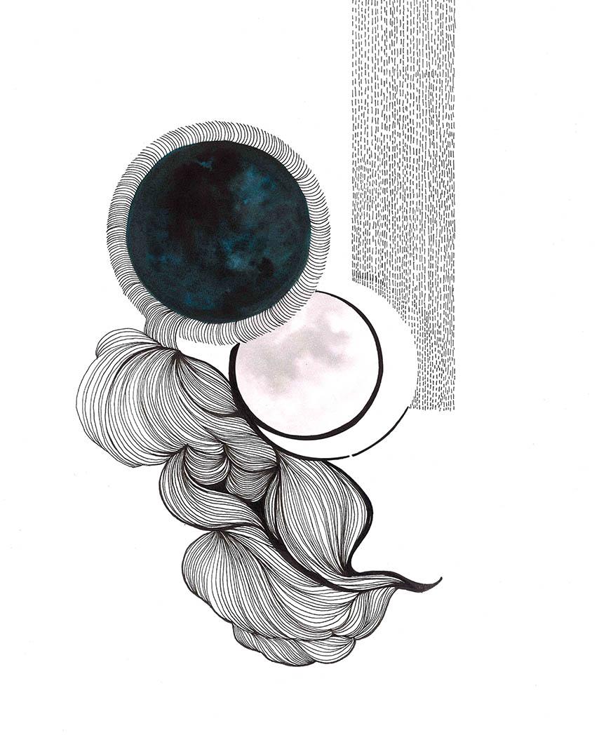Onda_lunar_illustration_poster_decoration_songe_graphique